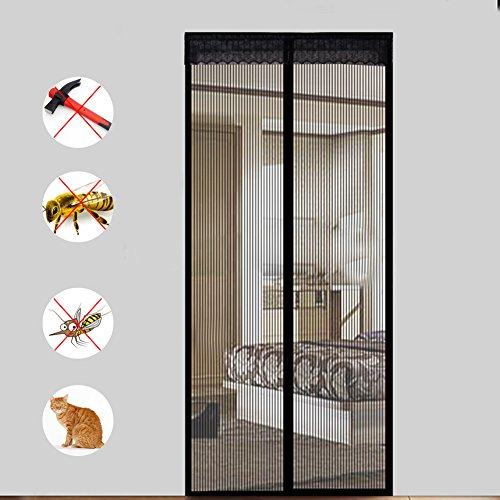 extsud magnet fliegengitter t r insektenschutz 90x210 cm. Black Bedroom Furniture Sets. Home Design Ideas