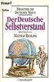 Der deutsche Selbstverstand