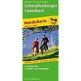 Schmallenberger Sauerland: Wanderkarte mit Nebenkarte Oberhundem - Wingeshausen, Ausflugszielen, Einkehr- & Freizeittipps, wetterfest, reissfest, abwischbar, GPS-genau. 1:30000