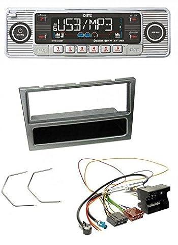 Dietz BOA RETRO_200_BT Bluetooth USB SD MP3 CD Autoradio für