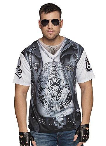 Boland 84280 Photorealistisches Shirt Rider, mens, XL