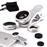 Luxsure Silver Cell Phone Lens 3 In1 iPh...