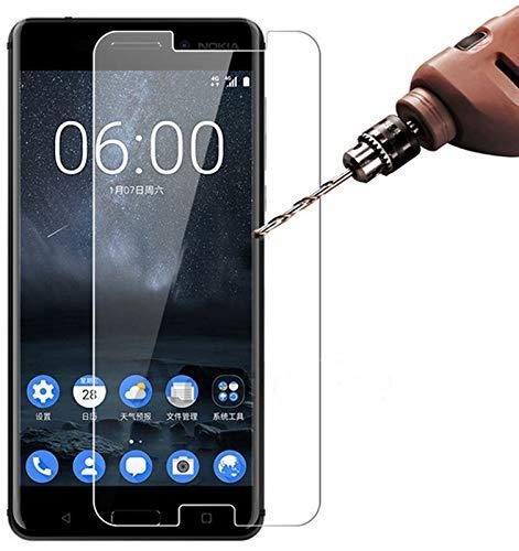 NT-EU Schutzglas für Huawei Y3-2 (Y3-II), Panzer Bildschirm-Schutz, Glas-Folie, Ultra-Klar Sicht, Panzerfolie mit 9H-Härte, Bildschirm-Schutzfolie panzerglasfolie bruchsicher