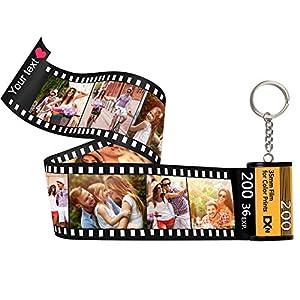 Llaveros Personalizados con Foto Película