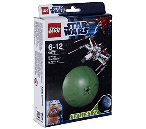 LEGO Star Wars 9677 - X-Wing Starfighter y Yavin 4