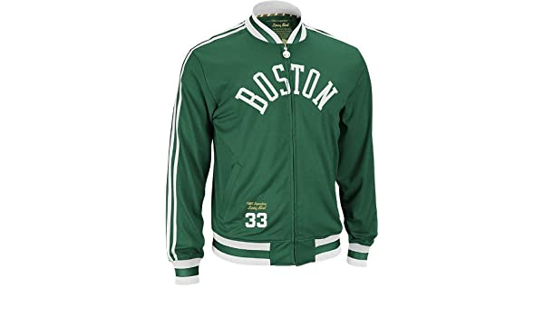 NBA Men s Boston Celtics Larry Bird Originals Legendary Retired Player  Jacket (Kelly fb64543d8