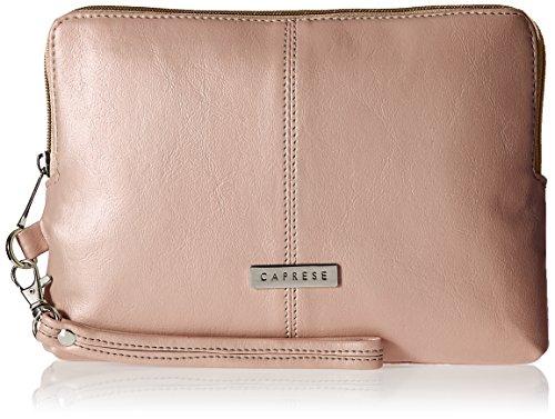 Caprese Women's Wristlet (Metallic Pink)