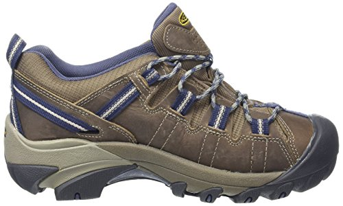 Keen Targhee Ii Wp, Scarpe da Arrampicata Basse Donna Marrone (Goat / Crown Blue)