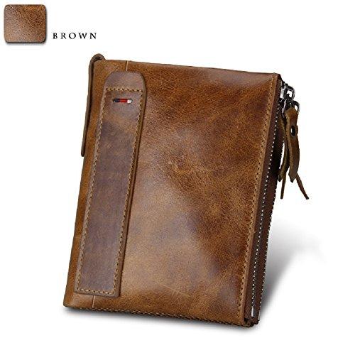 Herren Portemonnaie aus Rindleder