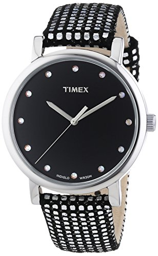 Timex Damen-Armbanduhr Originals Classic Round Analog Quarz Leder T2P481