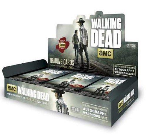 The Walking Dead Season 4 Part 1 Trading Cards Box (Cryptozoic 2016) by Cryptozoic Entertainment