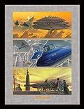 Pyramid International FP11358P-PL Star Wars (Arrival at Cloud City) gerahmter Druck, 250 GSM Paperwrap MDF, Mehrfarbig, 44 x 33 x 4 cm