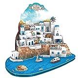 3D Puzzle Santorini Islands Griechenland îles Santorin isole Σαντορίνη