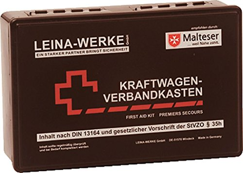 Leina-Werke 10009Trousse de premier secours pour voiture standard, de 2couleurs assorties