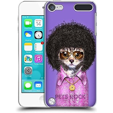 Ufficiale Pets Rock Disco Musicisti Cover Retro Rigida per iPod Touch 5th Gen / 6th Gen