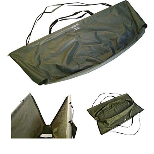 Karpfen Angel Deluxe Wiegenetz Wiegesack 110 x 50 cm mit Tasche