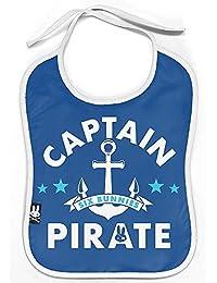 SIX Bunnies Captain Pirate Bib baberos de 058