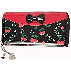 Banned - Cartera para mujer Mujer multicolor Red/black Talla única