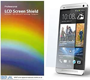 iBPM HTC One (M7) 2013 Screen Protector Pack of 10 plus free cloth
