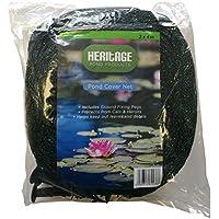 Heritage Pet Products Malla para cubrir estanques de peces Koi y protegerlos de Gatos, hojas o predadores.