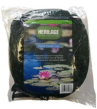 Heritage Pet Products ? Filet de protection de bassin, protège contre les chats, les hérons, les feuilles