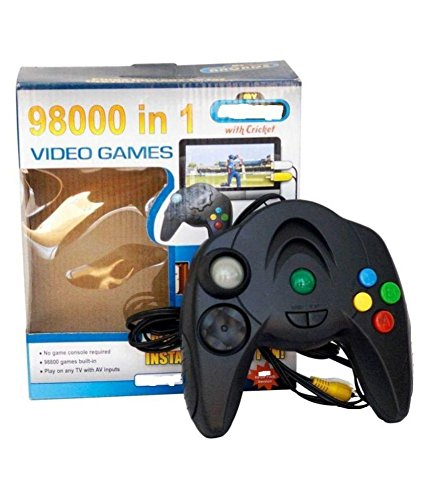 Anjali Video Game VGC Controller For Play On Any TV With AV Inputs ( Wired )