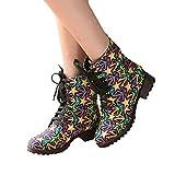 TianWlio Frauen Herbst Winter Stiefel Schuhe Stiefeletten Boots Warme Schuhe Wild Tassel Mittleres Rohr Schneestiefel Kurze Plüsch Damen Stiefel Gelb 39