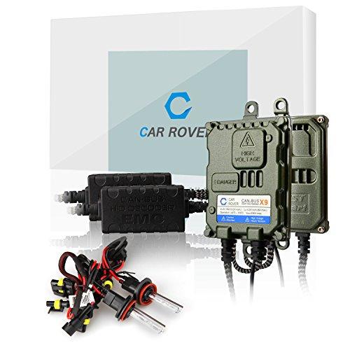 Car Rover® H11/H8/H9 Canbus Kit Xenon HID Senza Errori Decodifica Ballast 55W Lampadina del Faro 6000K