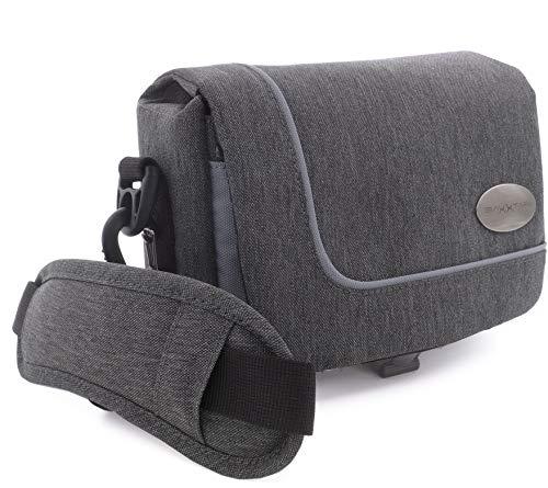 Mantona Camcorder und Actioncam Umhängetasche - mit Gürtelschlaufe