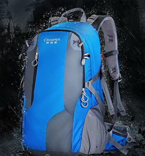 ROBAG Outdoor-Tasche Schulter Klettern neue 2016 für Männer und Frauen-Tourismus Wanderrucksack Rucksack 40 l blue