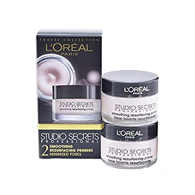 L'Oreal Studio Secrets Resurfacing Primer 15 ml - Pack of 2