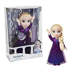 Idea Regalo - Giochi Preziosi- Elsa Cantante con Luci e Suoni Bambola, Multicolore, FRN89000