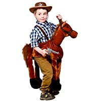 Boys Girls Ride on Horse Animal 4-8 years Fancy Dress Costume One Size Unisex