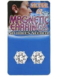 Boucles d'oreilles magnétique rond homme
