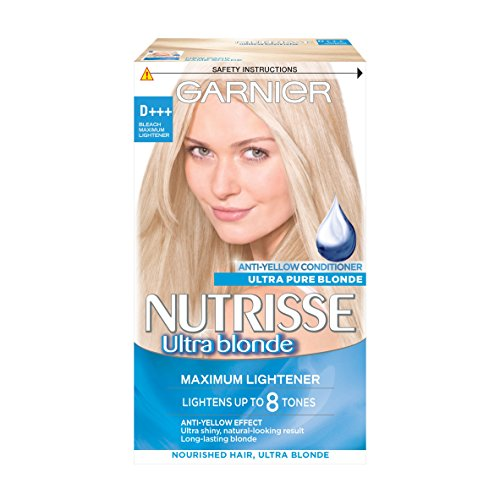 Garnier Nutrisse D+++ Bleach Lightener Permanent Hair Dye