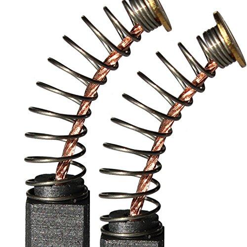 Kohlebürsten Motorkohlen Kohlen 6,3x6,3x15 für Bosch Heckenschere Scheren PHS 560 G PHS 66 G 2604321909 E63