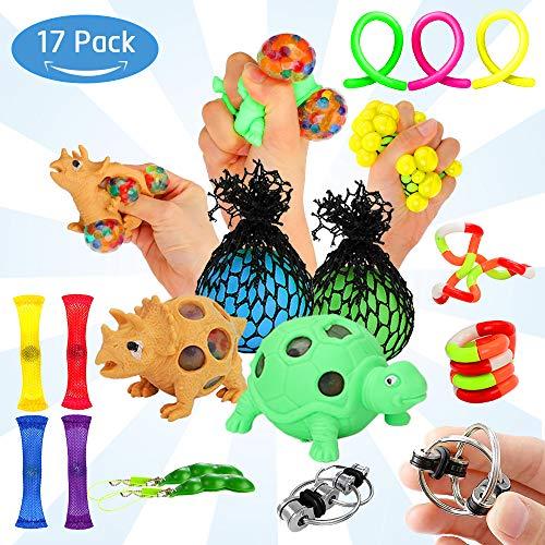 Ucradle 17 Pack Fiddle Toys Kit Sensory Fidget Toys