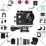 Action Cam 4K Daping Action Kamera Wasserdicht Unterwasserkamera 170°...