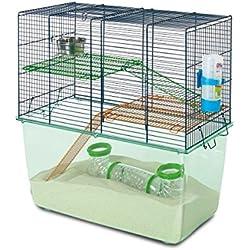 VADIGRAN Savic Cage Hamster Habitat 52 X 26 X 52 cm