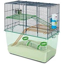 SAVIC Petface - Jaula de hábitat para jerbo, Color Azul Marino