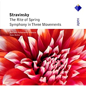 Stravinsky : Symphony in 3 Movements : II Andante
