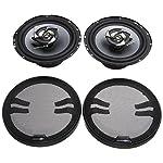 Sub-Zero Ice SS3327 Speakers, 6.5-inch Coaxial 220W - Black/grey