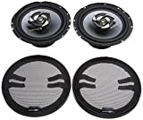 Best 6.5 Car Speakers For Basses - Sub-Zero Ice SS3327 Speakers, 6.5-inch Coaxial 220W Review