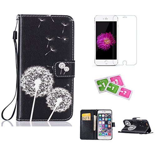 iphone-5-5s-se-case-jgntjls-with-free-tempered-glass-screen-protector-colorful-pattern-premium-pu-le