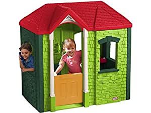 Little tikes 172489e3 maison de jardin cambridge - Maison de jardin little tikes colombes ...