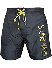 "Smith & Jones Badeshorts ""Decibel"" (dark shadow)"