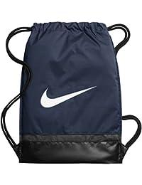 Nike Nk Brsla Gmsk, Bolsa de Cuerdas para Hombre, Azul (Midnight Navy / Black / White), Talla Única