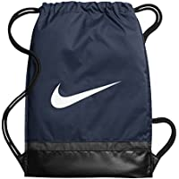 Nike BA5338, Sacco per Ginnastica Unisex – Adulto, Midnight Navy Nero Bianco, Taglia Unica
