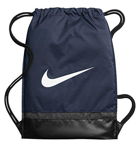 Nike Nk Brsla Gmsk String Tasche, Herren,blau (Midnight Navy/Black/White), Einheitsgröße
