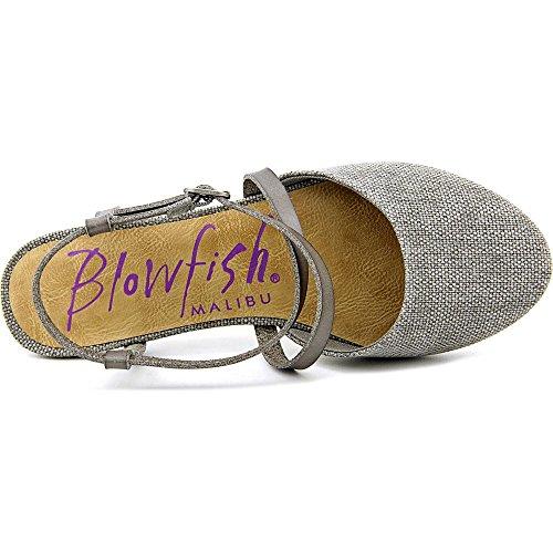 Blowfish Four Damen Rund Textile Wohnungen Steel Grey Rancher/Steel Grey